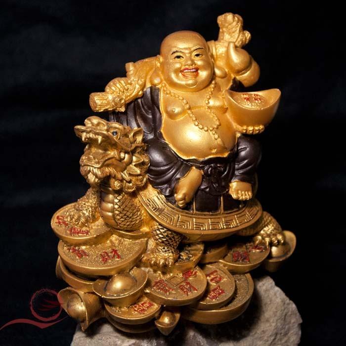Bouddha et tortue dragon