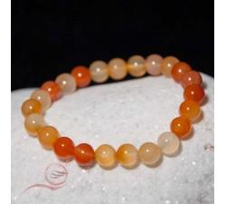 Bracelet en pierre de cornaline, lyon