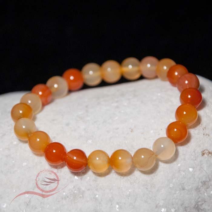Bracelet pierre cornaline