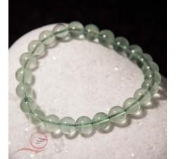 bracelet en fluorite verte