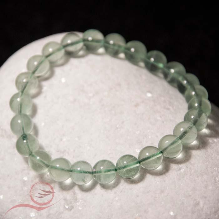 Fluorite bracelet, 8mm