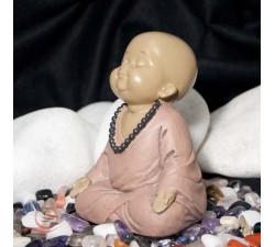 moine en meditation