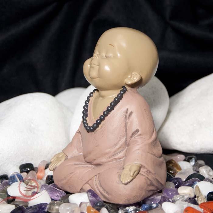 Moine en méditation