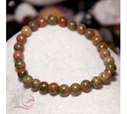 Beautiful unakite stone bracelet. Unakite is a stone of emotional balance, helping to solve physical problems.