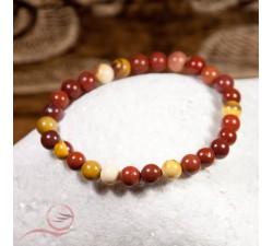 bracelets en jaspe makaite