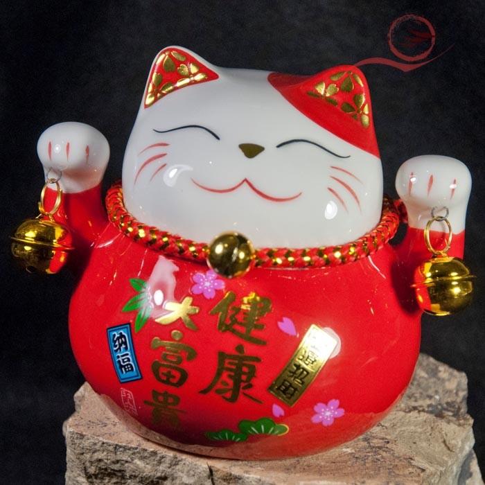 Chat maneki neko rouge