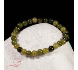 bracelet en jade, perles de 6mm a lyon