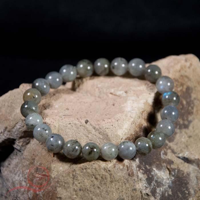 Bracelet, en perles de labradorite,  8mm