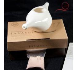neti pot en céramique pour l'hygiène des voies nasales a lyon