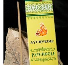 encens indien ayurvedic  patchouli à lyon