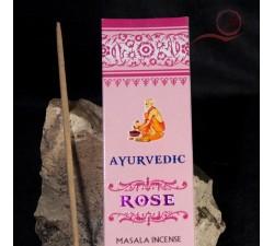 Encens indien Ayurvedic à la rose lyon