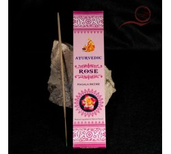 Indian Ayurvedic rose incense