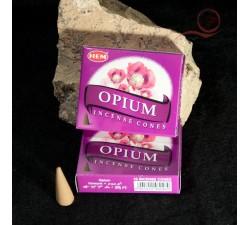 encens en cone fleur d'opium a lyon