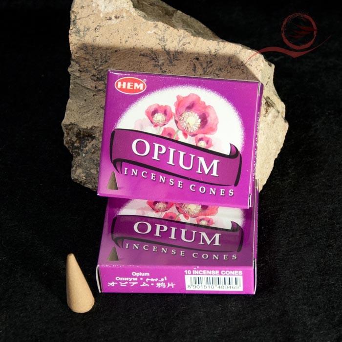Opium flower incense