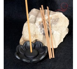Lotus flower incense burner.
