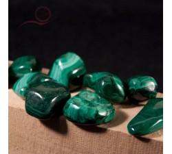 pierres roulées malachite à lyon