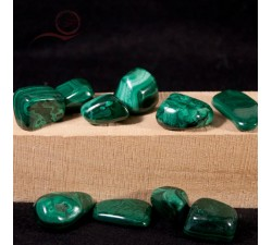 Malachite rolled stones