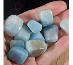Aquamarine rolled stones
