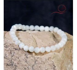 mother of pearl bracelet, 6mm beads