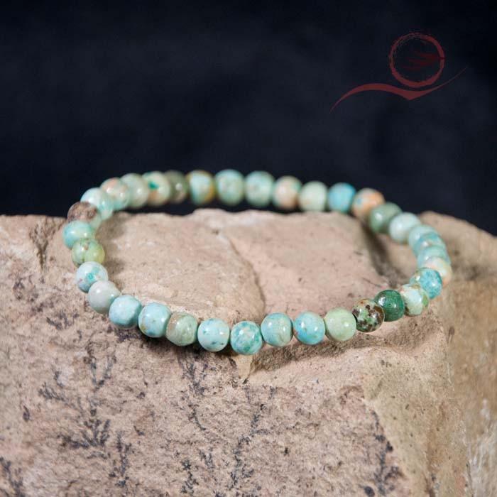 Bracelet turquoise du Pérou