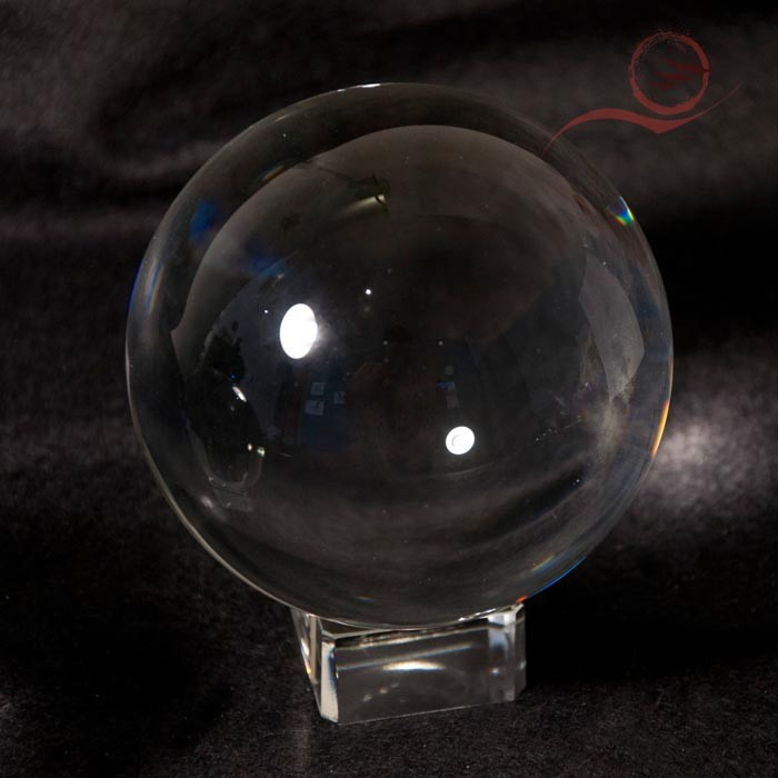 crystal ball, 10 cm