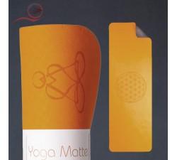 Orange TPE yoga mat