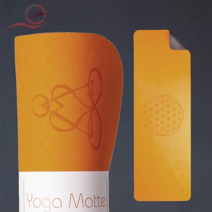 Tapis yoga TPE orange