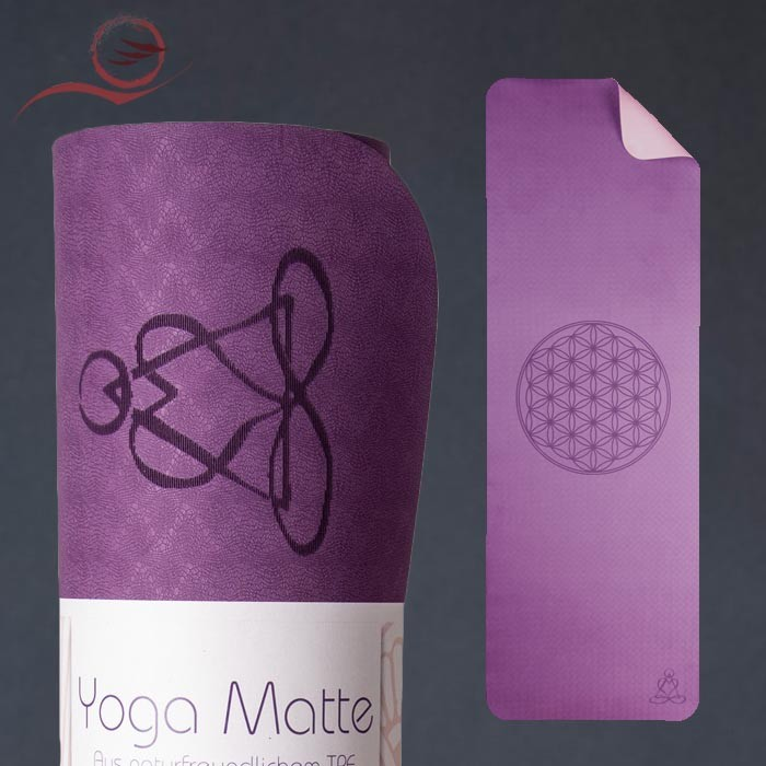 copy of pink TPE yoga mat