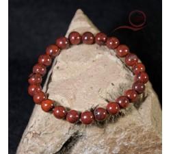 Bracelet jaspe breschia a lyon, bracelet en pierre