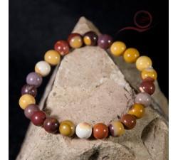 bracelet en jaspe mokaite a lyon