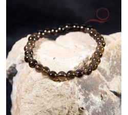 Bracelet quartz fumé à lyon