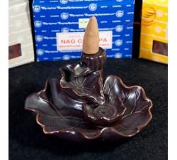 nag champa cone incense burner with repression in lyon