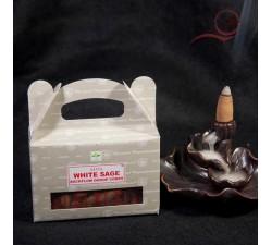 cones d'encens a refoulement sauge blanche, nag champa à lyon