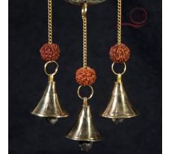carillon fleur de vie et graine de rudraksha lyon