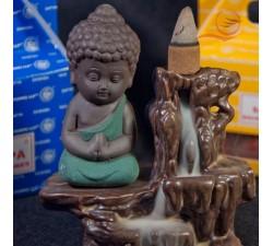 Brûle encens refoulement bouddha