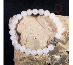 buddha rose quartz bracelet