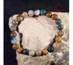 Ocean jasper bracelet: