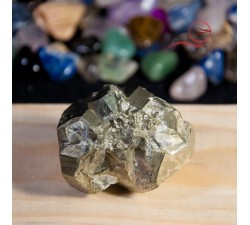 Pyrite pebble from Peru