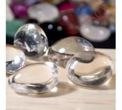 Pierres roulées en cristal de roche à lyon