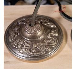tingsha, cymbale dragon à lyon