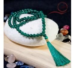 mala 108 perles en pierre d'aventurine a lyon