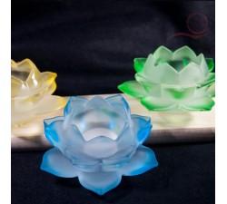 Lotus flower glass
