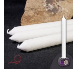 Long white candle