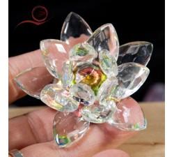 petit lotus en cristal a lyon
