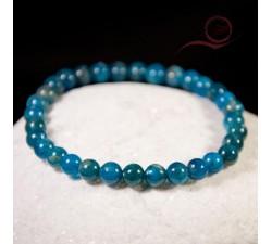 bracelet en pierre d'apatite