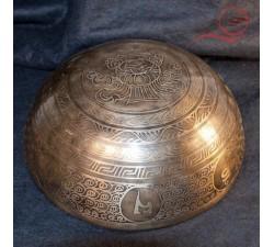 bol tibetain gravé a lyon