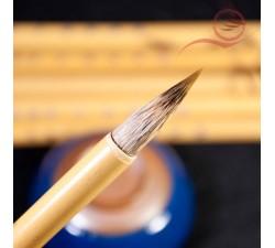 pinceau poils de loup pour la calligraphie chinoise et japonaise