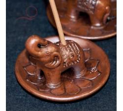 Elephant incense burner