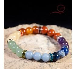 bracelet  pearl 7 chakras