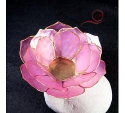 Bougeoir pétales de rose